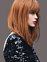 Elegant Fashion Straight  Human Hair Wigs For  Woman