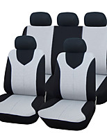 AUTOYOUTH Universal Fit for Car Truck Suv or Van Polyester Car Seat Cover Full Set Full Seat Cover 2 Colours