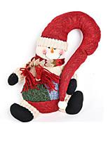 noël décorations de noël bonhomme de neige 35cm
