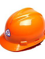 pe casque de sécurité droite chantier casque de sécurité en forme de V