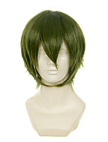 Kuroko Basketball Midorima Shintaro Atrovirens Turned Alice Halloween Wigs Synthetic Wigs Costume Wigs