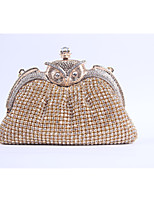Women PU Formal / Event/Party / Wedding Evening Bag/Purse/Shimmering Diamonds Hand Bag/Rhinestones/Owl/Clutch/Bird