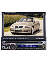 7 1DIN supporto pannello digitale touch screen LCD lettore DVD dell'automobile ipod.bluetooth.stereo schermo radio.gps.touch