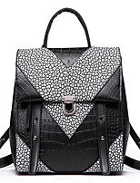 Women PU Sports / Casual Backpack Black