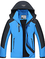 Hiking Softshell Jacket Unisex Thermal / Warm / Windproof / Ultraviolet Resistant / Wearable / Comfortable