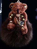 автомобиль кулон ключ крольчиха цепочка для ключей плюшевый медведь