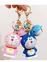 Doraemon A Dream Keychain Cartoon Doraemon Cat Bell Car Keychain Pendant