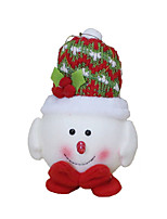 Christmas Decorations / Christmas Toys Holiday Supplies 3Pcs Christmas Textile Red / White / Yellow