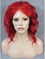 imstyle 14''cosplay трансвеститом коротковолновые красный синтетический фронта шнурка Термостойкое волокно