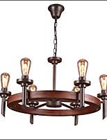 40W Závěsná světla ,  Tradiční klasika Obraz vlastnost for Mini styl Dřevo / bambusObývací pokoj / Ložnice / Jídelna / studovna či