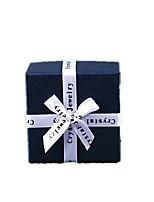 Note cinq conditionnés pour la vente taille 4 * 6.7 * 6.7cm agir cadeau bracelet bow boîte boîte cadeau couleur collier le rôle ofing se