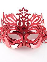 (Couleur aléatoire) hallowmas 1pc masque décorer hallowmas partie de costume
