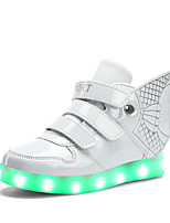 Boy's Sneakers Spring Summer Fall Winter Light Up Shoes Comfort Leatherette Wedding Outdoor Casual Athletic Party & Evening Flat Heel