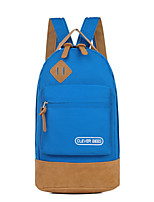 Women Nylon Sports / Outdoor Backpack Blue / Green / Red / Black / Fuchsia