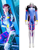 NEW ARRIVAL Women's Cosplay D.Va Cosplay Costume Elastic Jumpsuits Set Halloween Cosplay Costume