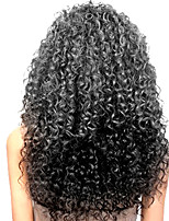 20-24inch Human Hair Lace Wigs Kinky Curl Human Hair Lace Front Wigs