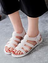 Summer Comfort PU Outdoor Flat Heel Others Black / Pink / White Walking