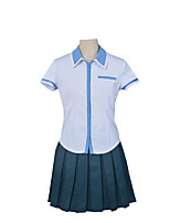 Frauen Set Heldin anime kuromukuro Cosplay Mädchen High-School-Uniform