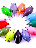 1 pcs Fishing Lures Frog Random Colors 16 g Ounce mm inch,Hard Plastic Bait Casting