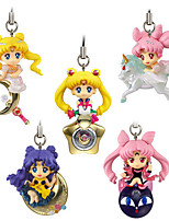 Sailor Moon Princess Serenity PVC 5cm Anime Action Figures Model Toys Doll Toy 5pc