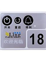 Internet Bar Desktop Switch Calling Device Dual USB Power Switch