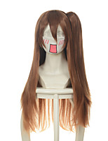 Chuunibyou Demo Koi Ga Shitai Nibutani Shinka Dark Brown Jaws Clamp Halloween Wigs Synthetic Wigs Costume Wigs