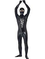 Costumes de Cosplay / Costume de Soirée Prisonier Fête / Célébration Déguisement Halloween Noir ImpriméCollant/Combinaison / Plus