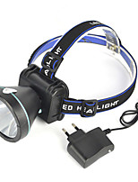 Lights Headlamps / Safety Lights / Headlamp Straps LED 2000 Lumens 1 Mode Cree XP-G R5 18650 Super Light / AngleheadCamping/Hiking/Caving