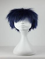 Promotion Kuroko no Basuke Aomine Daiki  30cm Short Blue Black Fashion Cosplay  Wig Party Cosume Wigs