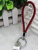 South Korea Creative Knitting Fashion Men Vehicle Logo Keychain Key Chain