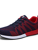 Women's Athletic Shoes Spring / Fall Comfort Tulle Athletic Flat Heel Others / Lace-up Black / Blue / Purple / Red / Gray Walking