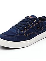Femme-Décontracté / Sport-Noir / Bleu / Vert / Gris-Talon Plat-Confort-Sneakers-Toile