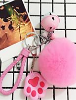 рекс меха кролика мяч мягкая сумка брелок