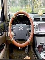 Small Black Sheepskin Classic Ultra - Fine Leather Car Steering Wheel Sets