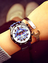 Watch Men Silicon Quartz WatchesTitanium Steel Letters Bracelets 2Pcs/Set Men Men'S Jewelry Relogio Masculino