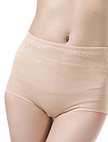 Femme Sexy Couleur Pleine Sous-vêtements Moulants Boxer Short-Nylon / Spandex