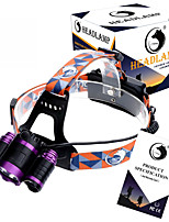 U`King ZQ-X809  LED 4 Mode 6000LMXM-L T6 Headlamp Adjustable Focus / High Power Portable headlight glare