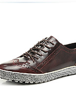 Men's Oxfords Spring / Fall / Winter Others Leather Office & Career / Casual Lace-up Black / Blue / Burgundy Others
