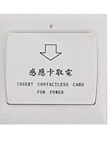 tomar cartão interruptor de poupança de energia elétrica