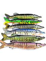 1 pcs Harte Fischköder Harte Fischköder Zufällige Farben 220 g Unze mm Zoll,Fester Kunststoff Köderwerfen