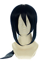 K Yatogami Kuroh Special Mixed Ink Blue Halloween Wigs Synthetic Wigs Costume Wigs