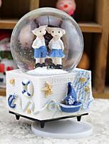Anniversaire Faveurs et cadeaux de fête-1Pièce/Set Cadeaux Etiquette Plastic Thème de papillon Balle Personnalisé Bleu / Blanc