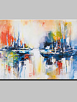 Hand Painted Modern Abstract Landscape Oil Paintings On Canvas Wall Art Picture For Home Decoration Ready To Hang