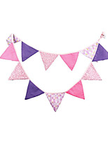 Birthday Party Arrangement Supplies Cotton Pennants
