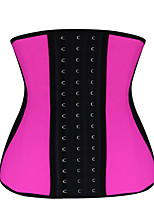 Shaperdiva Women 9 Steel Boned Latex Shaper Waist Training Corset Cincher