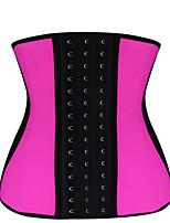 Damen Unterbrustkorsett Nachtwäsche,Sexy Patchwork-Elasthan Mittelmäßig Mehrfarbig Damen
