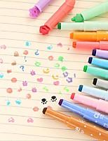 les élèves apprennent stylo marqueur clé