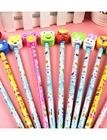 Eraser Pencil Cartoon Desig(12PCS)