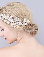 Vrouwen Bergkristal / Imitatie Parel Helm-Bruiloft / Speciale gelegenheden Haarkammen 1 Stuk