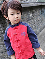 Boy's Casual/Daily Solid Suit & BlazerCotton Winter / Fall Red / Yellow